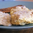 Country Sausage Gravy and Biscuits